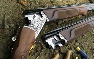 ИЖ-27, технические характеристики охотничьего ружья, ствол, приклад и калибр патронов, вертикальный и коллиматорный прицел, планка и цевье