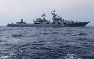 Крейсер «Москва» — «убийца» авианосцев