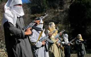 Элитный спецназ движения «Талибан»