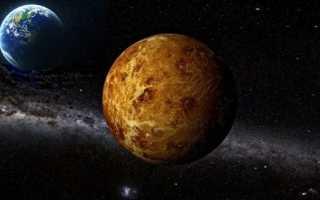 Венера — планета Солнечной системы, ее радиус, масса и плотность, описание поверхности и характеристика атмосферы, сведения о составе и строении