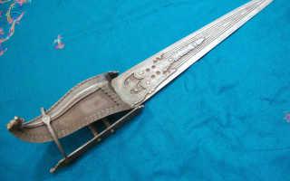 Катар оружие — экзотический кинжал индийских воинов, количество лезвий, форма рукояти и размеры, техника использования и фехтование