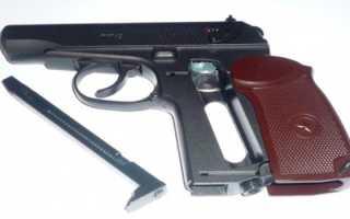 Обзор пневматического пистолета ПМ-49