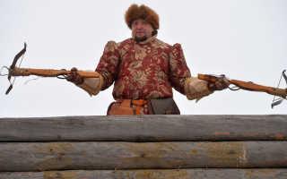 Охота с луком в россии
