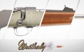Карабин Weatherby Mark XXI : отзывы, цена, технические характеристики, обзор