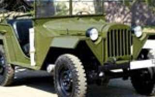ГАЗ-69 / ГАЗ-69А / «Козлик». Описание, характеристики, история, фото, видео.
