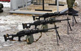 Обзор пулемета Печенег