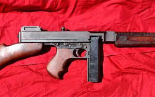 Пистолет — пулемет Thompson 1921