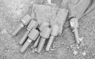 Фотографии солдат с гранатой РГД-33. Подборка-2