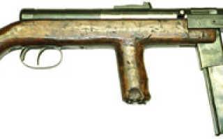 Пистолет — пулемет Wz. 1939 Mors