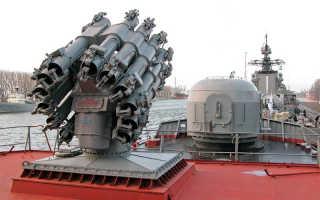 Глубинная бомба, реактивная и ядерная, корпус РГБ, сила взрыва, история создания и применения, современное использование на флоте