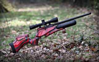 Как работает пневматический пистолет и винтовка