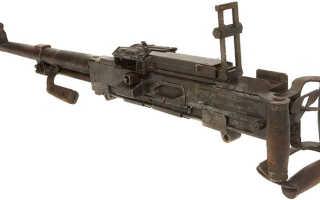 Наставление по стрелковому делу к пулемету Горюнова. 1950 год.