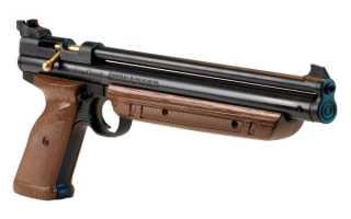 Обзор пневматического пистолета Crosman 1377C