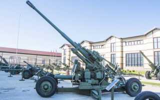 100-мм зенитная пушка КС-19. детальные фото