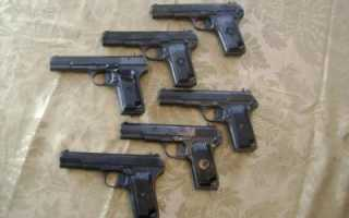 Пистолет Токарева / ТТ. Обзор, фото, характеристики, видео.