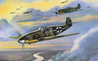 BF 109 — немецкий истребитель Messerschmitt, модификации E, F и G, какие двигатель, мотор и вооружение у самолета Мессершмитт
