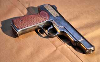 Дополнение к НСД. 9-мм пистолет Стечкина-АПС. 1978 год.