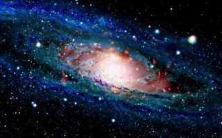 Галактика Андромеды и туманность, расстояние до нее и столкновение с Млечным Путем, ее звезды и планеты, размеры и масса, вид с земли на ночном небе