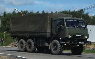 КамАЗ 53501 — военный грузовой автомобиль, ТТХ, объем двигателя, грузоподъемность, бак, горючее, панель приборов и щиток