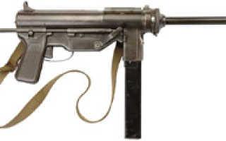 Пистолет — пулемет M3