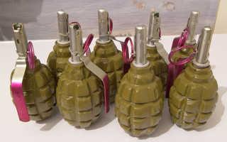Ф 1 — граната осколочная противопехотная, какой вес и ТТХ, чека, взрыватель и УЗРГМ, учебная и боевая, какое устройство и схема