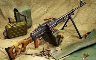 Обзор танкового пулемета Калашникова (ПТК)