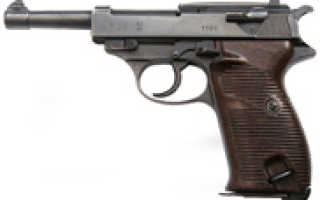 Вальтер пистолет боевой немецкой системы, какое устройство, калибр, схема и технические характеристики, как разобрать, оружие времен ВОВ