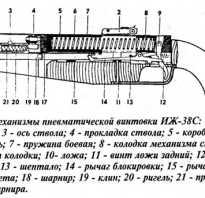 Обзор пневматической винтовки ИЖ 38