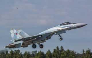 СУ-35, ТТХ и вооружение новейшего российского истребителя, поставка 2015 и состояние на 2020, скорость и фигуры высшего пилотажа