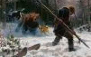 Рогатина на медведя: применение в групповой травле зверя и в одиночной охоте. культурное значение этого вида оружия