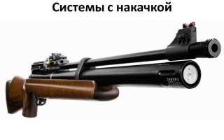 Мультикомпрессионные пневматические винтовки