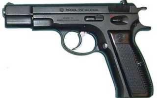 Пистолет ЧЗ — 75 (CZ — 75)