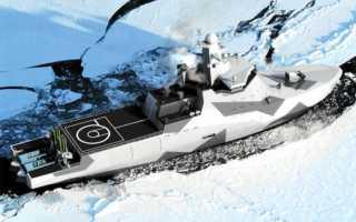 Проект 23550 — универсальные патрульные корабли ледового класса, водоизмещение, ТТХ и вооружение, постройка головного судна Алмаз