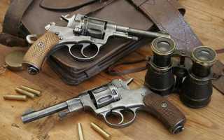 Наган, револьвер бельгийской системы, устройство и разборка, какие гильзы и пули, особенности модели Гром, ТТХ, описание и схема