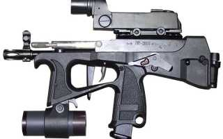 Пистолет-пулемет ПП-2000-обзорная статья