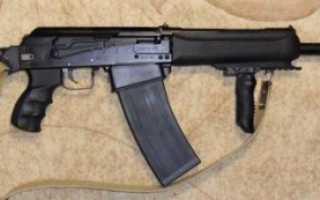 Сайга — гладкоствольное и нарезное охотничье ружье, модификации: 7, 12К, 12С, 20К, 223, 308МК, калибр 5,45