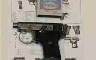 Пистолет Webley & Scott 1907
