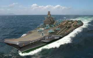 Тяжелый атомный авианесущий крейсер «Ульяновск»