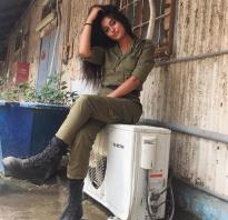 Горячие красотки армии Израиля