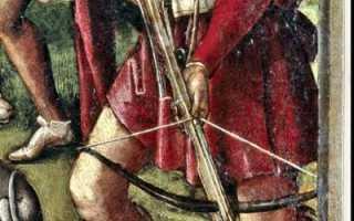 Средневековый арбалет