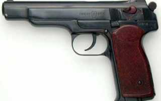 Пистолет Стечкина / АПС. Характеристик, описание, фото, видео.