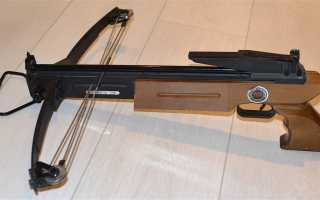 Арбалет-пистолет TDR 2005R: обзор, аналоги, стрельба, отзывы