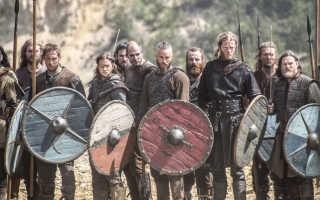 Викинги: языки и легенды, имена богов и королей, топоры и мечи, описание деревень и исторические битвы, переход к оседлости