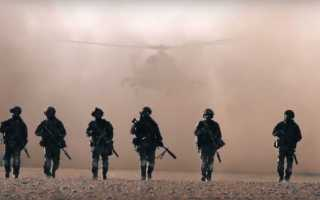 Бойцы российских ССО охраняют сирийского генерала.