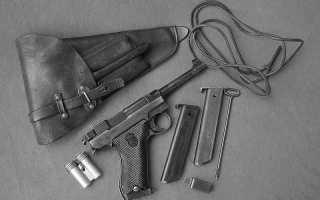 Пистолет Хускварна М40 (Husqvarna M40)
