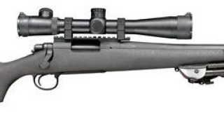 Карабин Remington 700 Police LTR TWS: отзывы, цена, технические характеристики, обзор