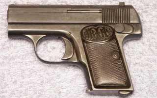 Пистолет Mann 6,35 mm