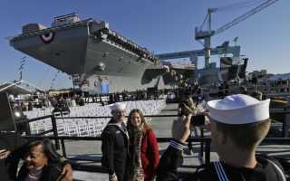Авианосцы США, атомные Нимиц, Энтерпрайз, Кеннеди и Джеральд Форд, сколько у Америки современных кораблей на 2020 год