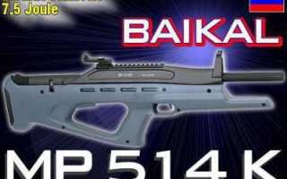Обзор пневматической винтовки MP-514K