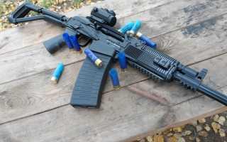 Вепрь 12 Молот, гладкоствольный карабин, приклад и магазин оружия, калибр патронов и стрельба, особенности модификации 205-02